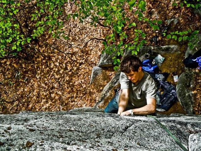 Climbing in the Gunks 2009