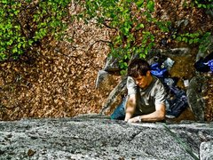 Rock Climbing Photo: Climbing in the Gunks 2009
