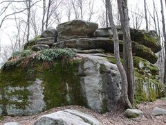 Rock Climbing Photo: Medium sized boulder, try to avoid the moss.