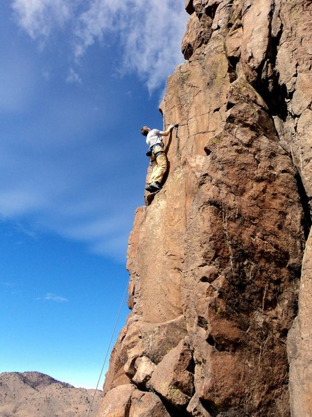 Rock Climbing Photo: Warm, sunny rock in Golden or shady ice in Vail, h...