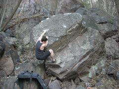 Rock Climbing Photo: Sweaty.