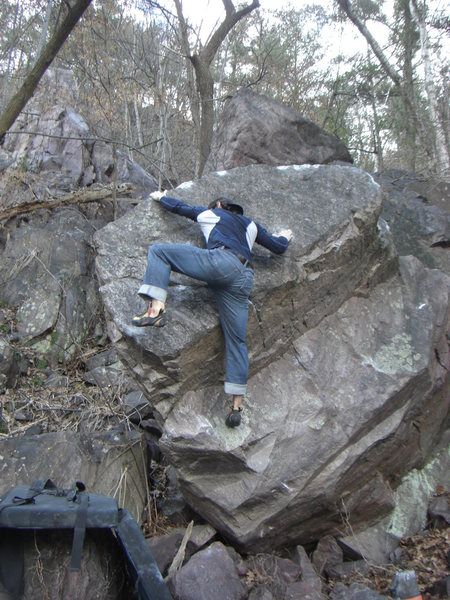 Good climb.