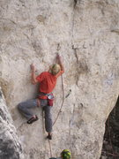 Rock Climbing Photo: Awesome new route. Buy the new Spearfish Canyon gu...