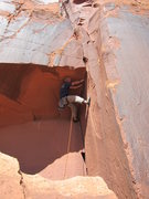 Rock Climbing Photo: Pulling the fingers roof.