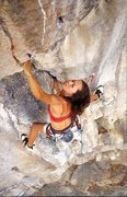 Rock Climbing Photo: Kat climbing Ants In My Pants