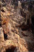 Rock Climbing Photo: Awash in a sea of limestone