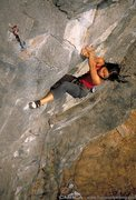 Rock Climbing Photo: The coolest move at Crazy Horse!
