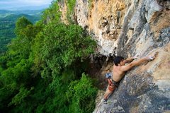 Rock Climbing Photo: Beautiful views from Duang Jai