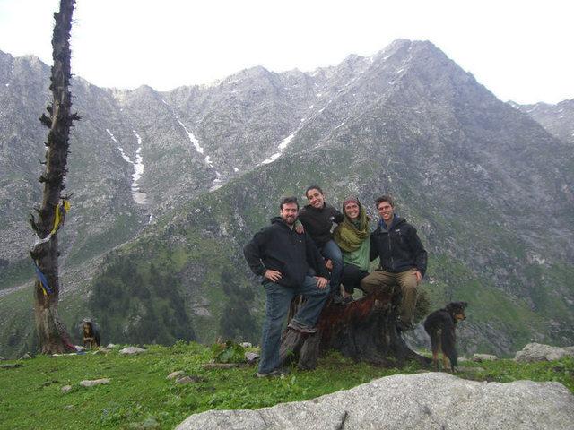 Rock Climbing Photo: With my final group. halfway chai shop.