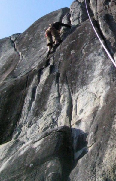 Rock Climbing Photo: sea Bluffs