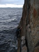 Rock Climbing Photo: traverse