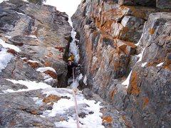 Rock Climbing Photo: Hessie Chimney