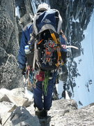Rock Climbing Photo: A typical rack for a June(uary) ascent..