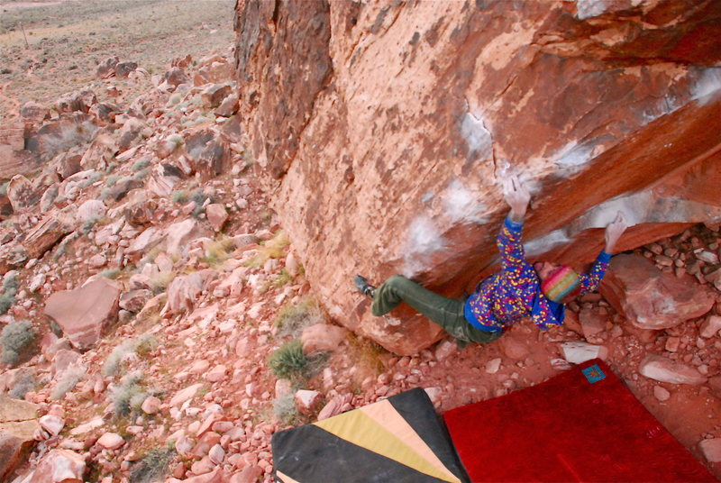 Rock Climbing Photo: Fabian on the send