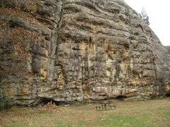 Rock Climbing Photo: Makanda Bluff +1