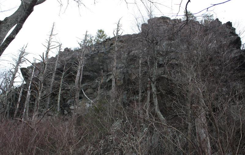 part of Loft Mtn Crag