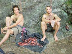 Rock Climbing Photo: Sport climbing, Rumney, NH