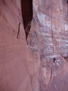"Rock Climbing Photo: ""Cherry Crack"" as seen from ""The Fa..."