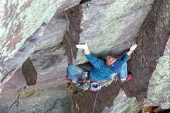 Rock Climbing Photo: Plethora, 5.11a. Photo: Sarah Brengosz