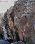 Rock Climbing Photo: Bare Bones Beta 2
