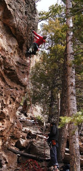 Kate crushing the Whitecap.<br> <br> Wade Forrest Photo