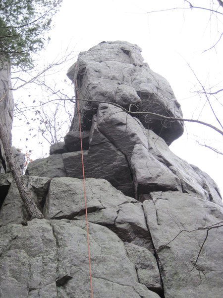 Rock Climbing Photo: Good view of the start.
