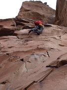 Rock Climbing Photo: Guthrie on Class Act.