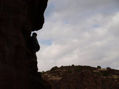 Rock Climbing Photo: Beguin in the Grotto.