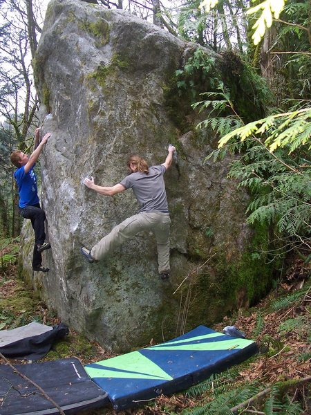 Brent destroying the crux