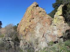 Rock Climbing Photo: south face Iceberg boulder.