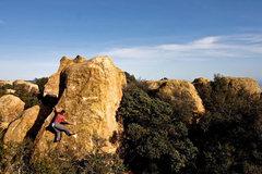 Rock Climbing Photo: Me, at the start.