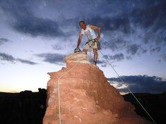 "Rock Climbing Photo: Jacek ""Malory"" Lupina after new route on..."