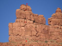 Rock Climbing Photo: Jaceks' new route on north-east face of Putterman ...