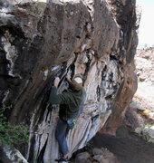 Rock Climbing Photo: JJ on Sawbones