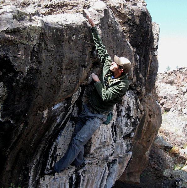 Rock Climbing Photo: JJ on the Sawbones