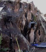 Rock Climbing Photo: FA? of Crown Royale