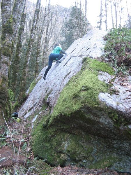 Rock Climbing Photo: Got Slab?