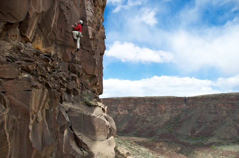 Rock Climbing Photo: Hard to beat this view, that's for sure.