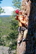 Rock Climbing Photo: Alpine sport climbing conditions for Pasha.