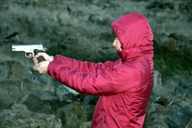Rock Climbing Photo: sue shoots