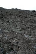 Rock Climbing Photo: Start of second pitch 5.10a