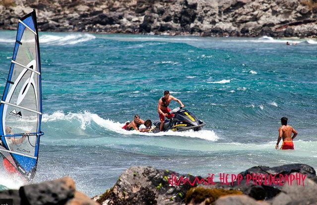 Maui County Life Guards on the scean