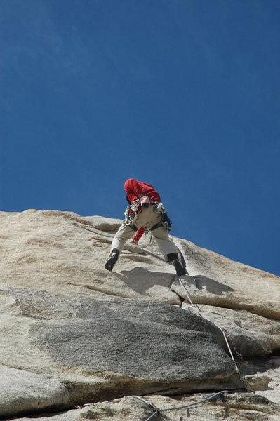 Rock Climbing Photo: toe jam