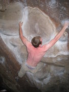 Rock Climbing Photo: just a couple inches short. next time...
