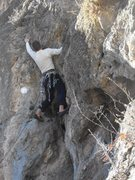 Rock Climbing Photo: finally a route that is not polished