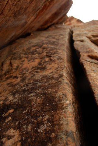 Rock Climbing Photo: Miagi's double-handcrack corner.   Photo: Corey Ga...