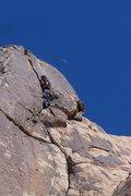 Rock Climbing Photo: Paul starting the final crack