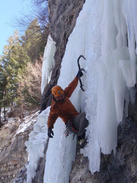 Pullin' the ice.