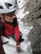 Rock Climbing Photo: Me on The Snave Direct of Mount Evans. Photo: J.Cz...