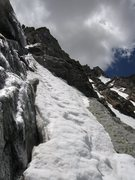Rock Climbing Photo: First pitch on the lower band of The Snave Direct....